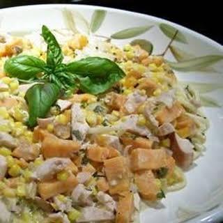 Sweet Potato Chicken Casserole.