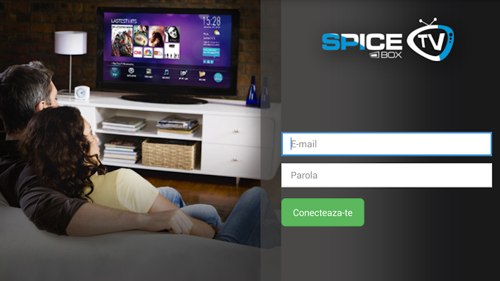 Spice TV Box Player - screenshot