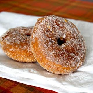 Gluten-Free Baked Pumpkin Doughnuts