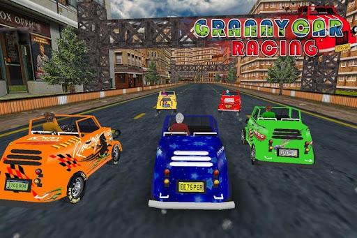 Granny Car Racing 3D Game