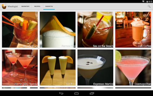 Mixologist - Cocktail Recipes- screenshot thumbnail