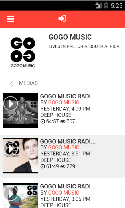 GOGO Music- screenshot