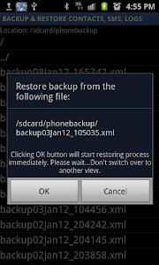 Secure Backup & Restore screenshot 5