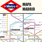 MADRID SUBWAY MAP 2014 FREE