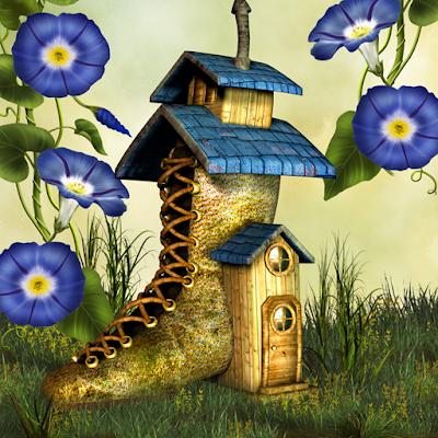 Hidden Garden Fairy Tale
