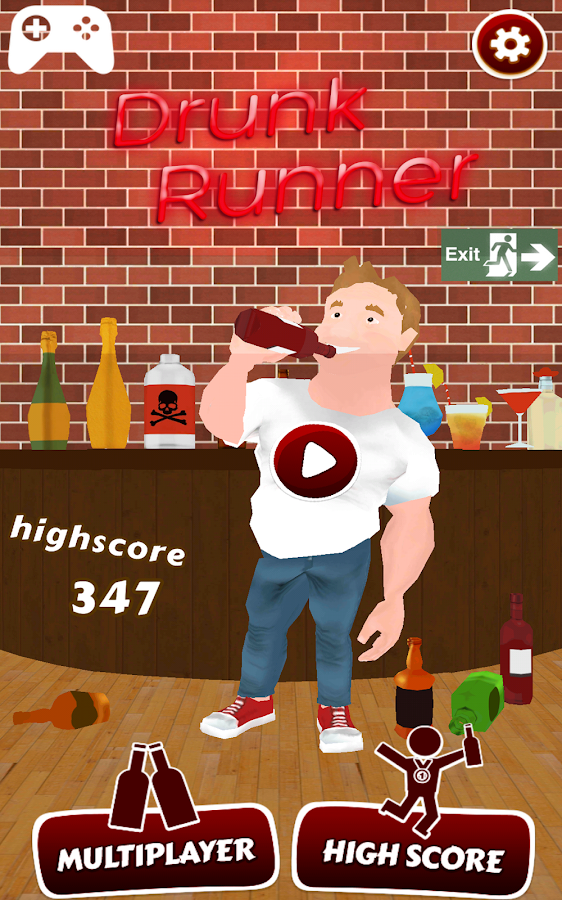 Drunk Runner- screenshot