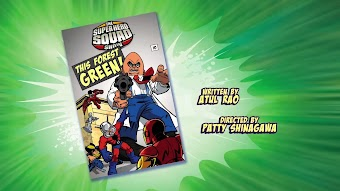 The Super Hero Squad Show- THIS FOREST GREEN