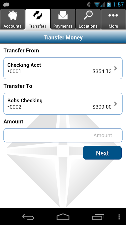 FNB Creston Mobile Banking - screenshot