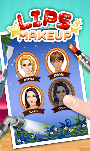 Princess lips SPA girls games