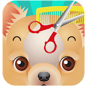 Cute Puppy Hair Shave Salon