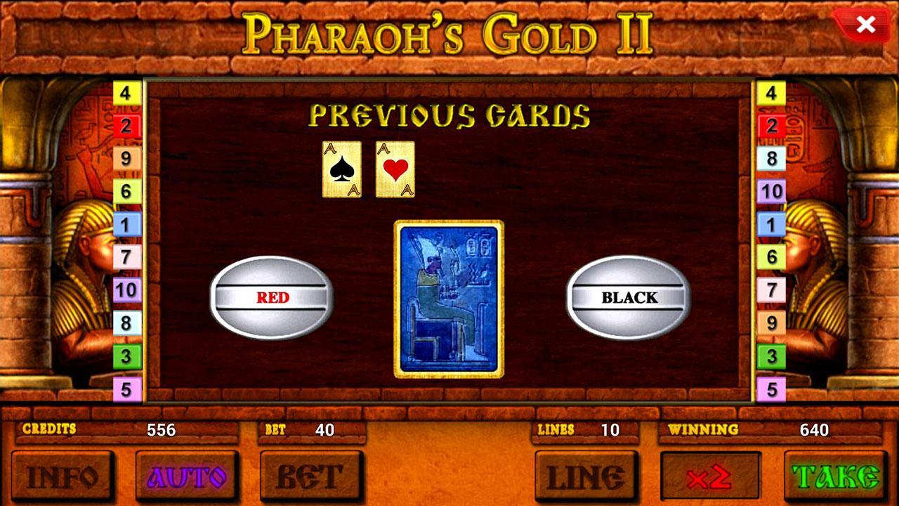 pharaohs gold slot game