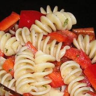 Spicy Summer Pasta Salad