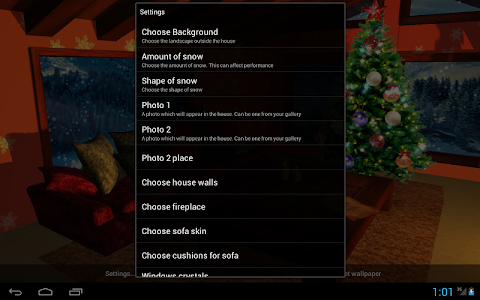 3D Christmas Fireplace HD Full v1.22