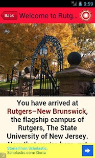Visit Rutgers- screenshot thumbnail