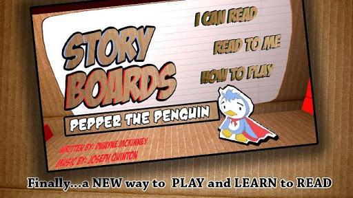StoryBoardsLite Pepper Penguin