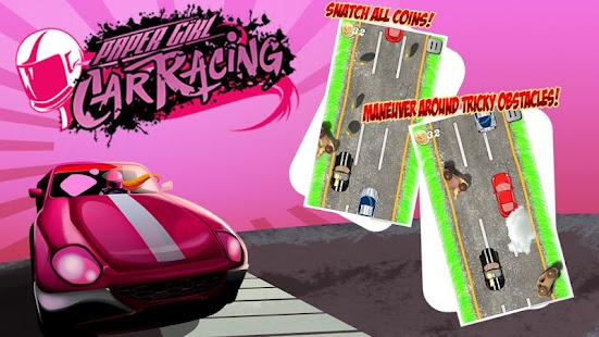 Paper Girl Car Racing Game screenshot