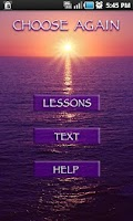 Screenshot of ACIM Text & Lessons