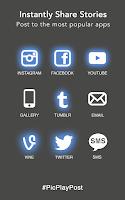 Screenshot of PicPlayPost - Video Collage