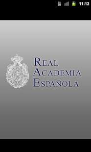 Diccionario de la RAE- screenshot thumbnail