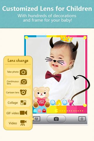 POCO Baby Camera - Kids Album - screenshot