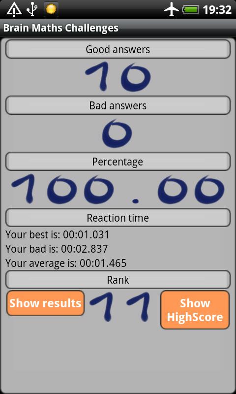 Cerebral challenges- screenshot