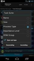 Screenshot of Memory Manager