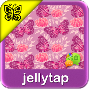 pink butterfly theme