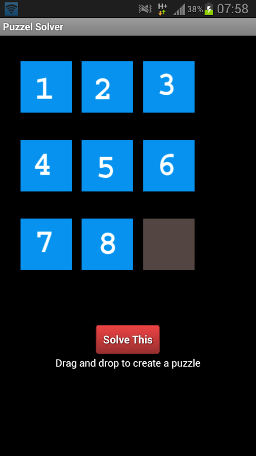 8 Puzzle- screenshot