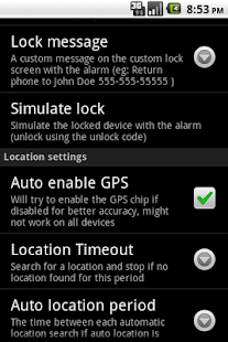 Find my Phone - Lost Droid - screenshot thumbnail