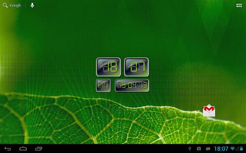 数字LCD时钟小工具