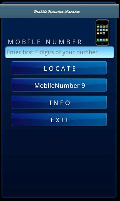 New Mobile Number Locator- screenshot