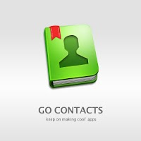 GO Contacts Iceblue Theme 3.01
