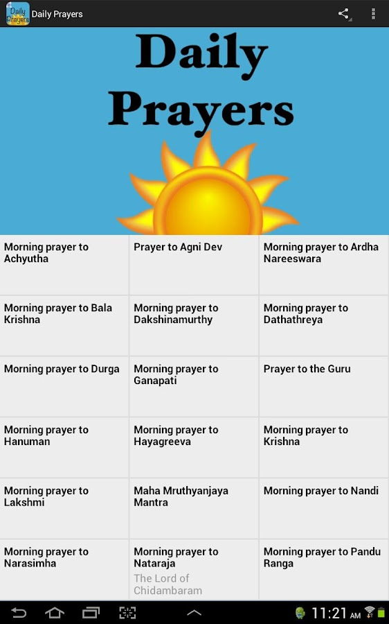 Daily Prayers- screenshot