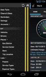 DriverDiary - Gas Mileage Screenshot 2