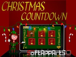 Screenshot of Christmas Countdown 2014
