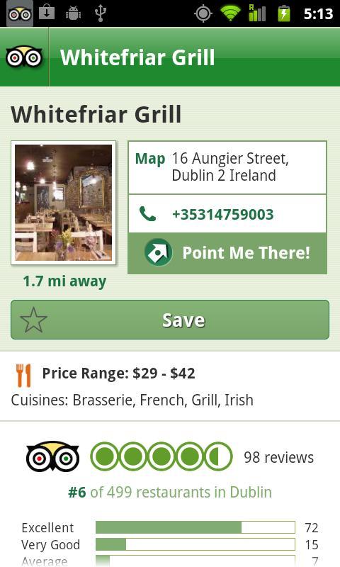 Dublin City Guide screenshot #4
