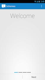 Schemes - Scheduled Networking Screenshot 1