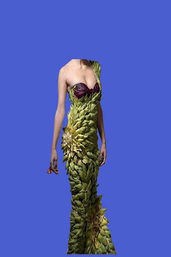 Crazy Dress Woman Photo Suit