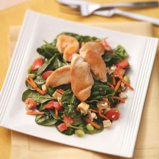 Chicken & Pita Salad.