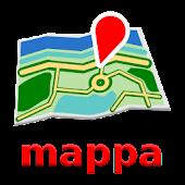 Bilbao mapa mappa Desconectado