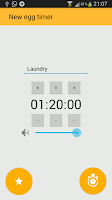 Screenshot of Egg Timer