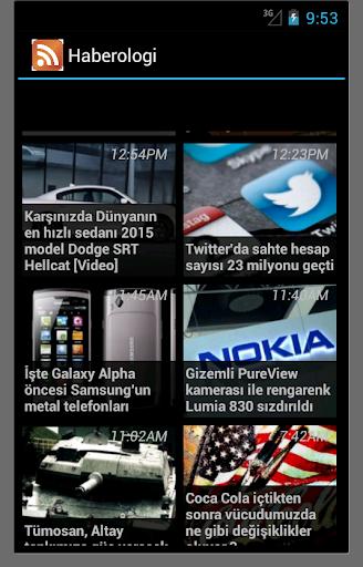 玩免費媒體與影片APP|下載Gundem ve Teknoloji Haberleri app不用錢|硬是要APP