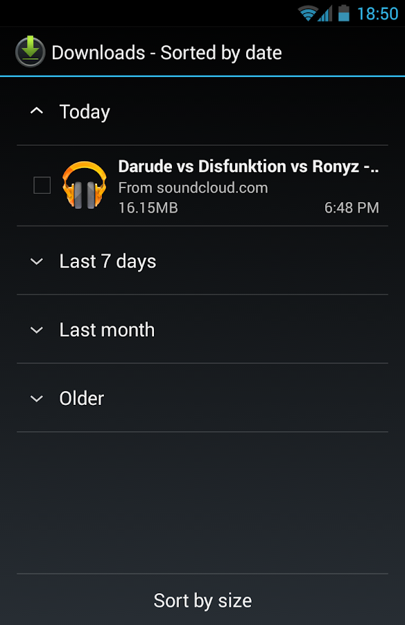 Downloader for SoundCloud - screenshot