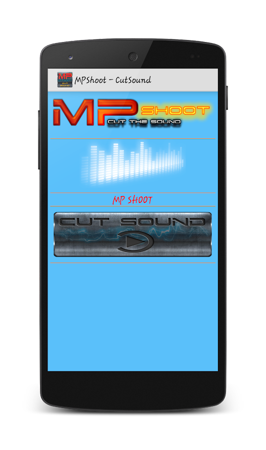 CortaCanciones MPShootCutSound- screenshot
