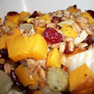 Roasted Butternut Squash, Fennel, and Farro Salad Recipe