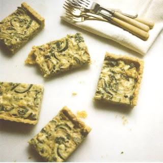 Zucchini Gorgonzola Tart