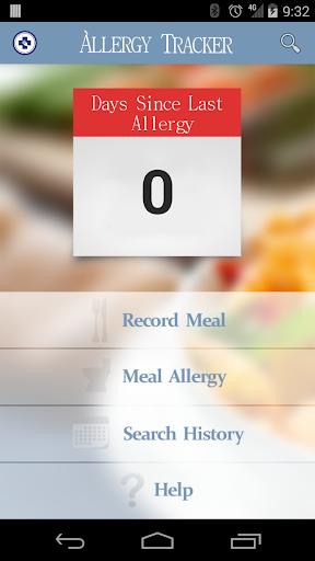 AllerTrack-Meal Log IBS Celiac