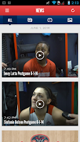 Screenshot of Washington Mystics Mobile