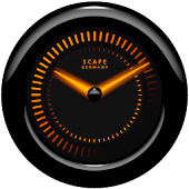 Laser Clock Widget A-MARVEL