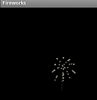 Screenshot of Fireworks